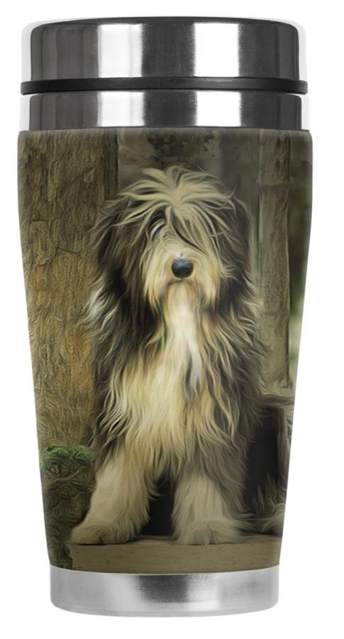 Bearded collie mug 6