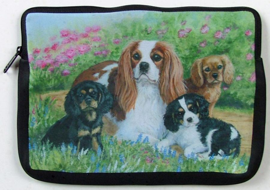 Cavalier Picture Netbook Sleeve #4