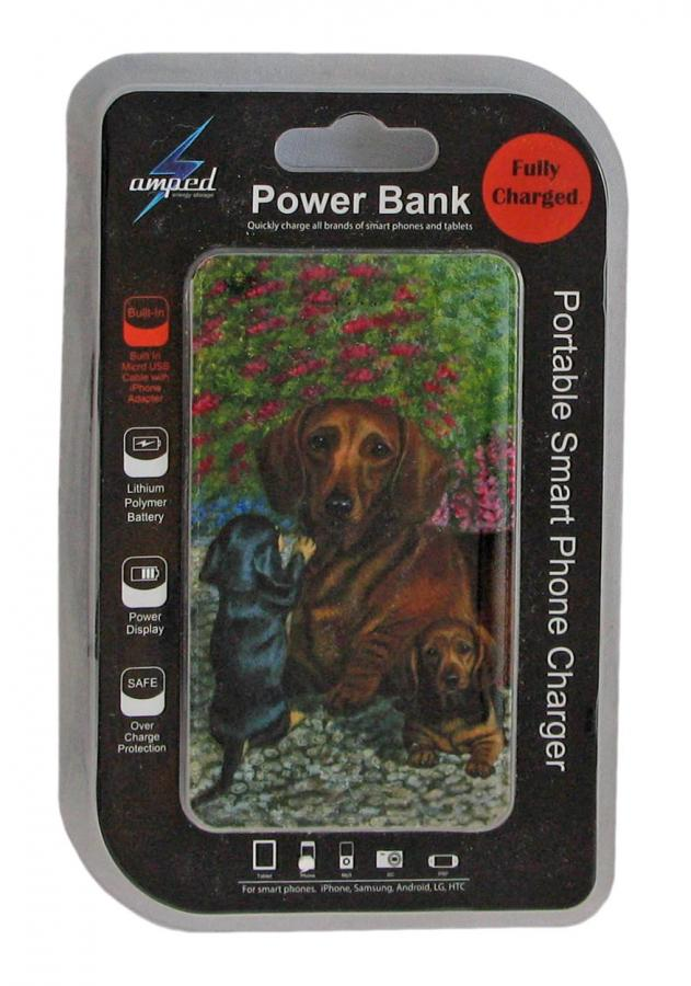 Dachshund 4 power bank package