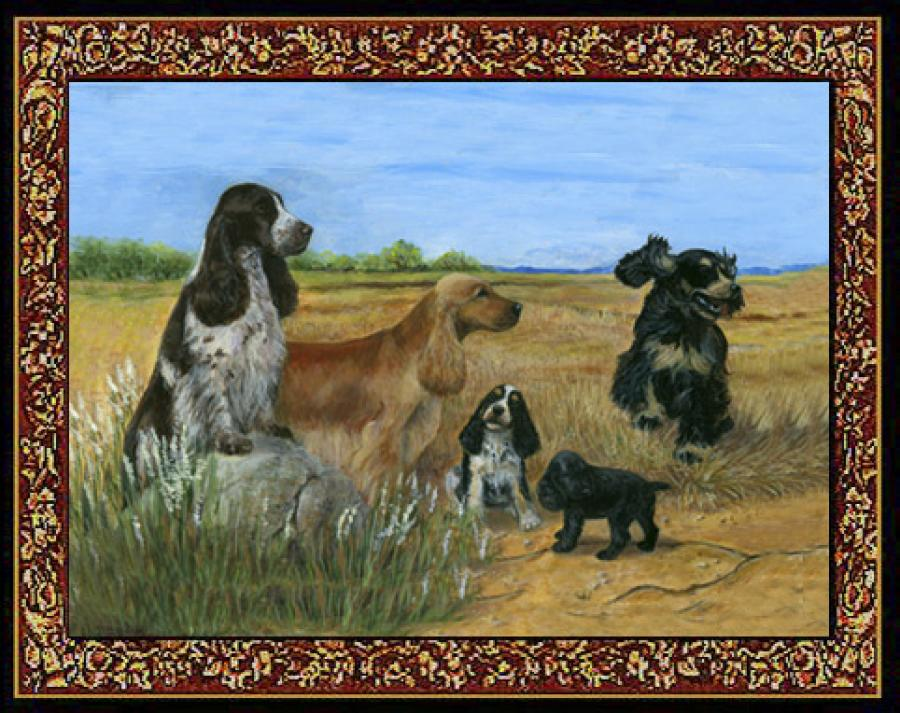 English Cocker Spaniel Tapestry Placemat #4 Single