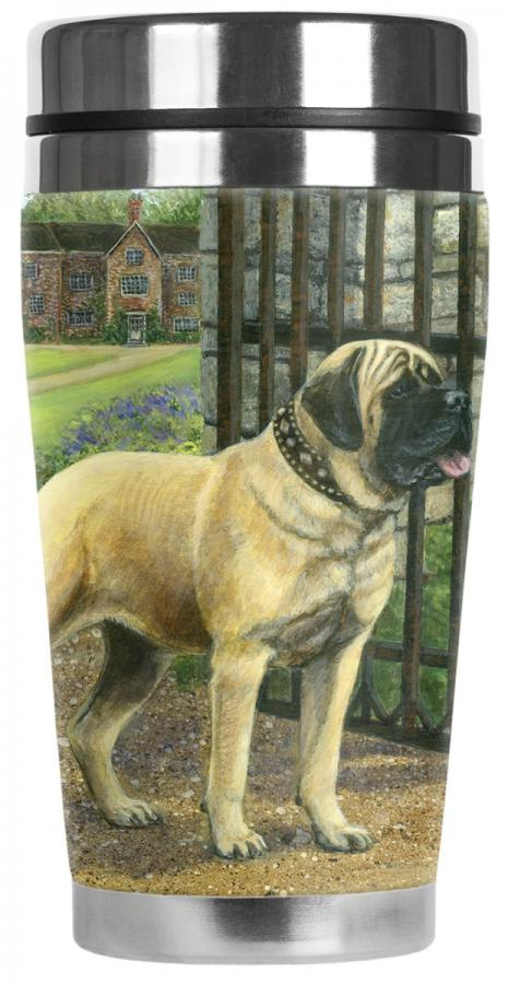 eng mastiff travel mug