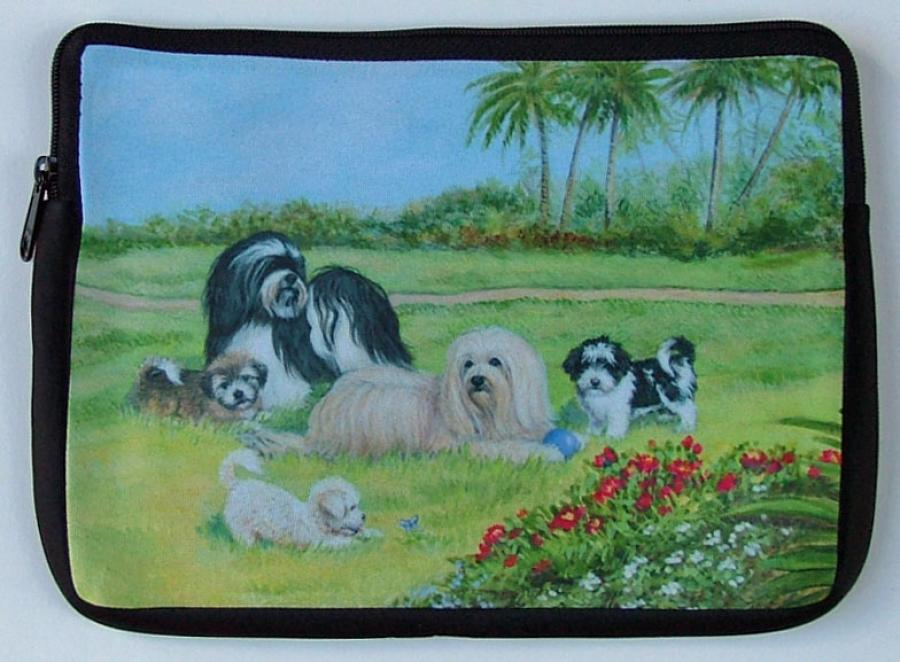 Havanese Picture Netbook Sleeve #2
