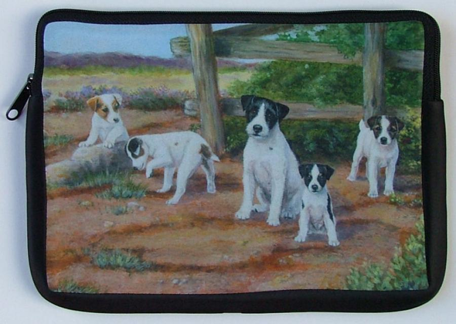 Jack Russell Picture Netbook Sleeve #3
