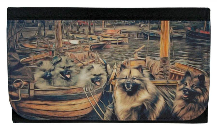 Keeshond wallet 1