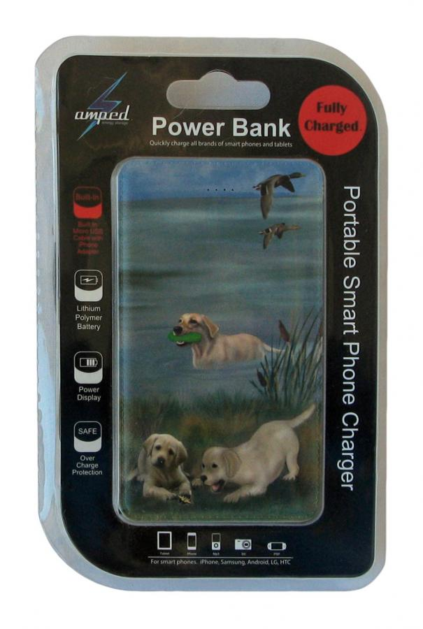 Yellow Lab 4 power bank package