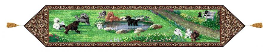 Poodle table runner