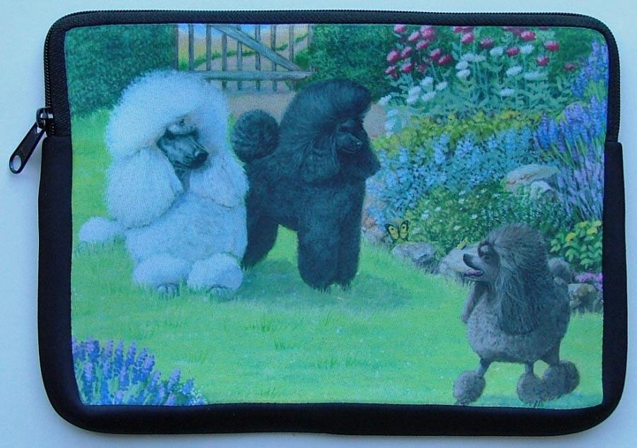 Poodle Picture Netbook Sleeve #4