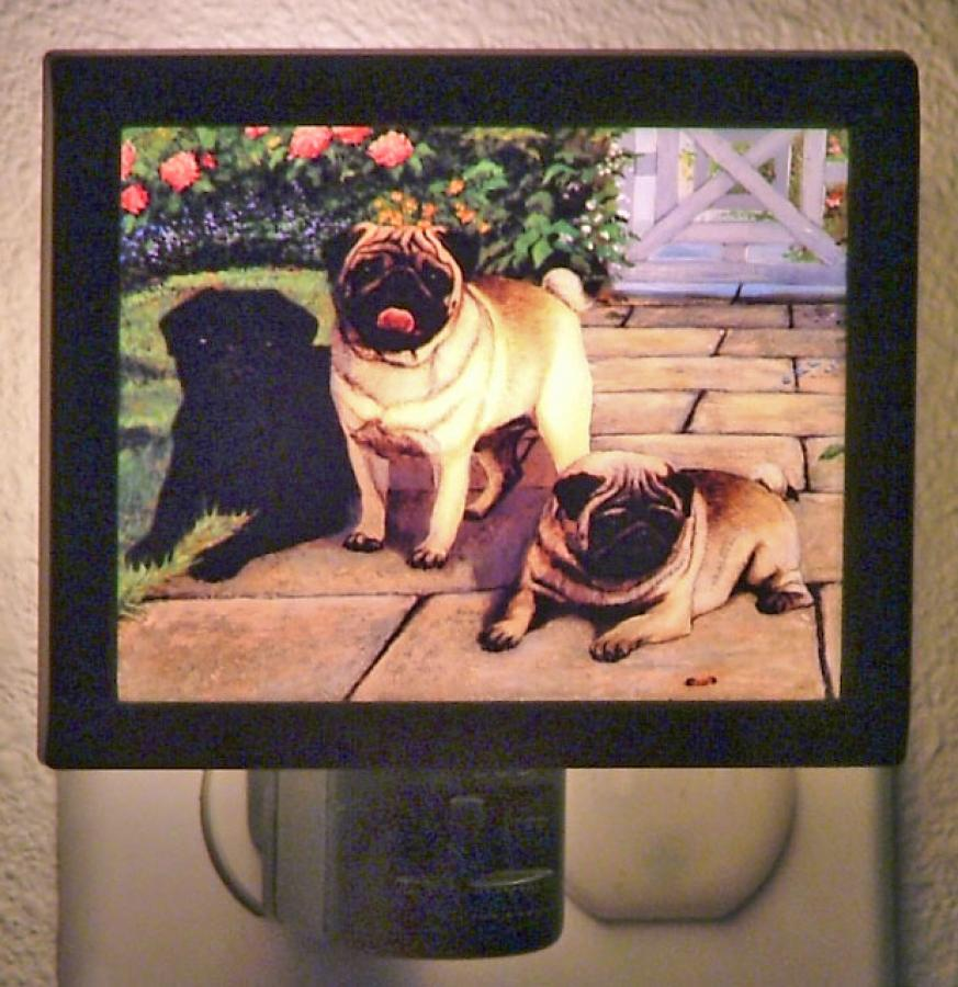 Pug 2 Nightlight