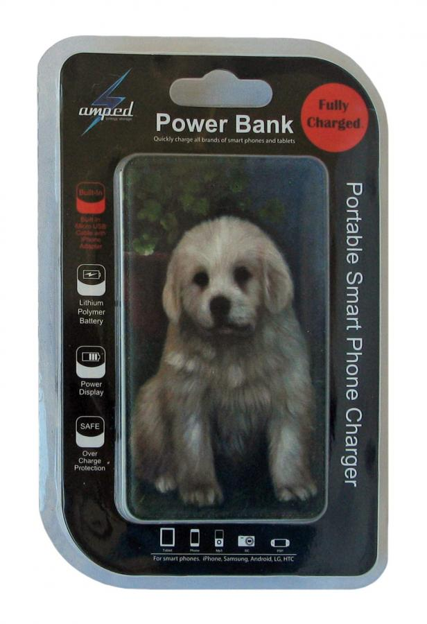 Great Pyrenees power bank package