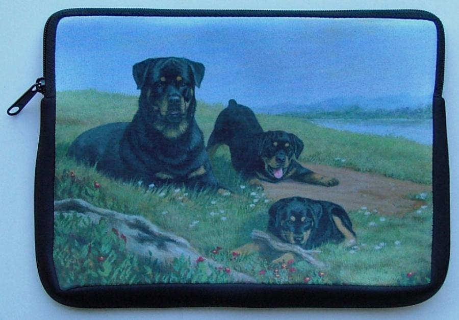 Rottweiler Picture Netbook Sleeve #3