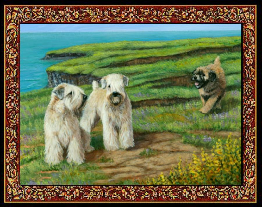 Wheaten 1 Single Tapestry Placemat
