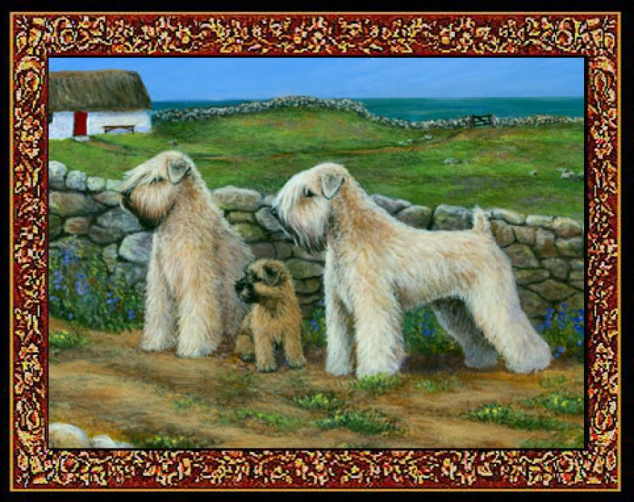 Wheaten 3 Single Tapestry Placemat