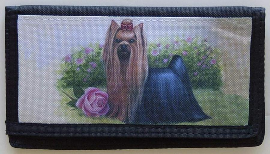 Yorkshire Terrier Picture Checkbook Cover #7