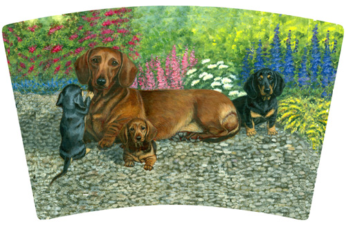 Dachshund TVM artwork #4
