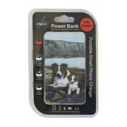 Border collie power bank package