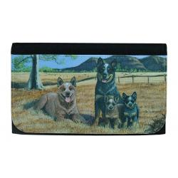 Australian Cattle Dog Picture Wallet #1