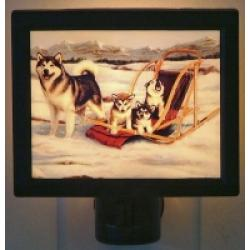 Alaskan Malamute 3 Nightlight
