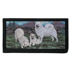 American Eskimo dog checkbook 1