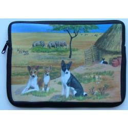 Basenji Picture Netbook Sleeve #3