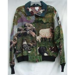 Border Collie Baseball Jacket 1A