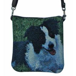 Border collie pocket purse bpa
