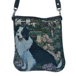 Border collie pocket purse bpb