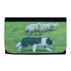 Border collie wallet 1