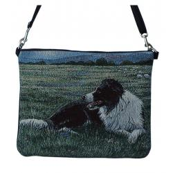 Border collie daybag 2