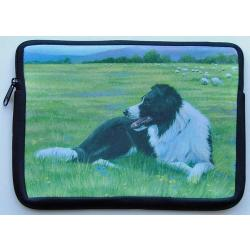 Border Collie Picture Netbook Sleeve #2