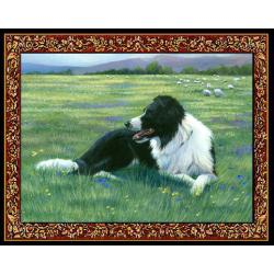 Border Collie Tapestry Placemat #2