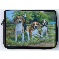 Beagle Picture Netbook Sleeve #4
