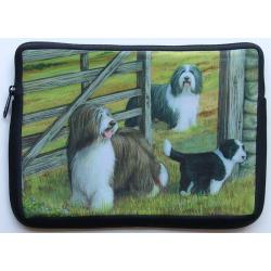 Bearded Collie Picture Netbook Sleeve #4