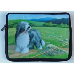 Bearded Collie Picture Netbook Sleeve #5