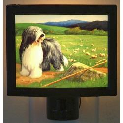Bearded Collie Nightlight #5