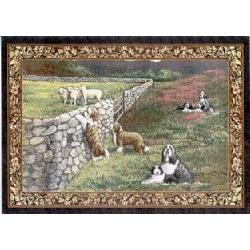 Bearded Collie Tapestry Placemat #3
