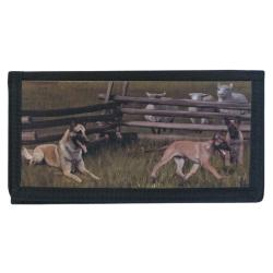 Belgian Malinois checkbook cover 1