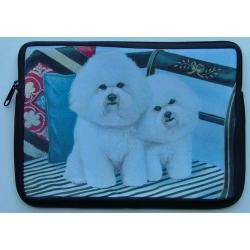 Bichon Frise Picture Netbook Sleeve #1