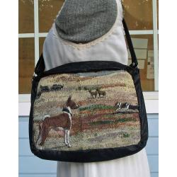 Basenji shoulder bag
