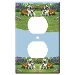 bulldog outlet plate 4a