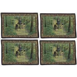 Bullmastiff placemat set