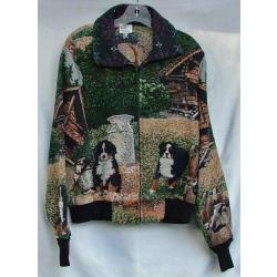 Bernese Mt. Dog Baseball Jacket 1A