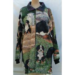 Bernese Mt. Dog Car Coat 1A