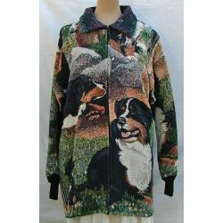 Bernese Mt. Dog Car Coat 1B