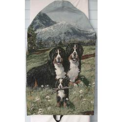 Bernese Mt. Dog Tapestry Garment Bag 1