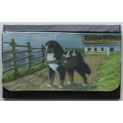 Bernese Mt Dog Picture Wallet #2