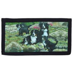 Bernese Mt Dog Checkbook Cover #3