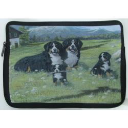 Bernese Mt Dog Picture Netbook Sleeve #4