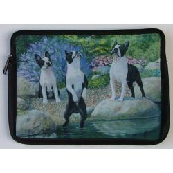 Boston Terrier Picture Netbook Sleeve #1