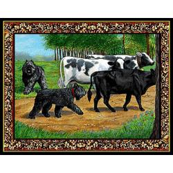 Bouvier Tapestry Placemat #2 - Single