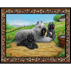 Bouvier Tapestry Placemat #4 - Single